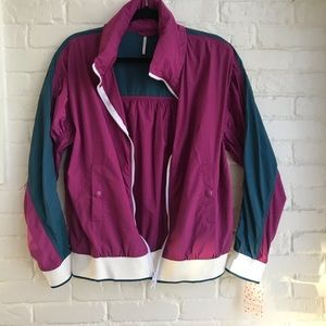 New w tags Free People Wind Breaker Jacket Small